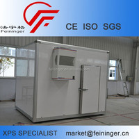 High Quality Mobile Cold Room panel for Fresh Fruits and Vegetables, refrigerated container panel