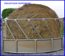 useful metal round bale cattle feeders / sheep feeders factory price