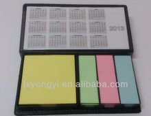 PU box packed assorted memo