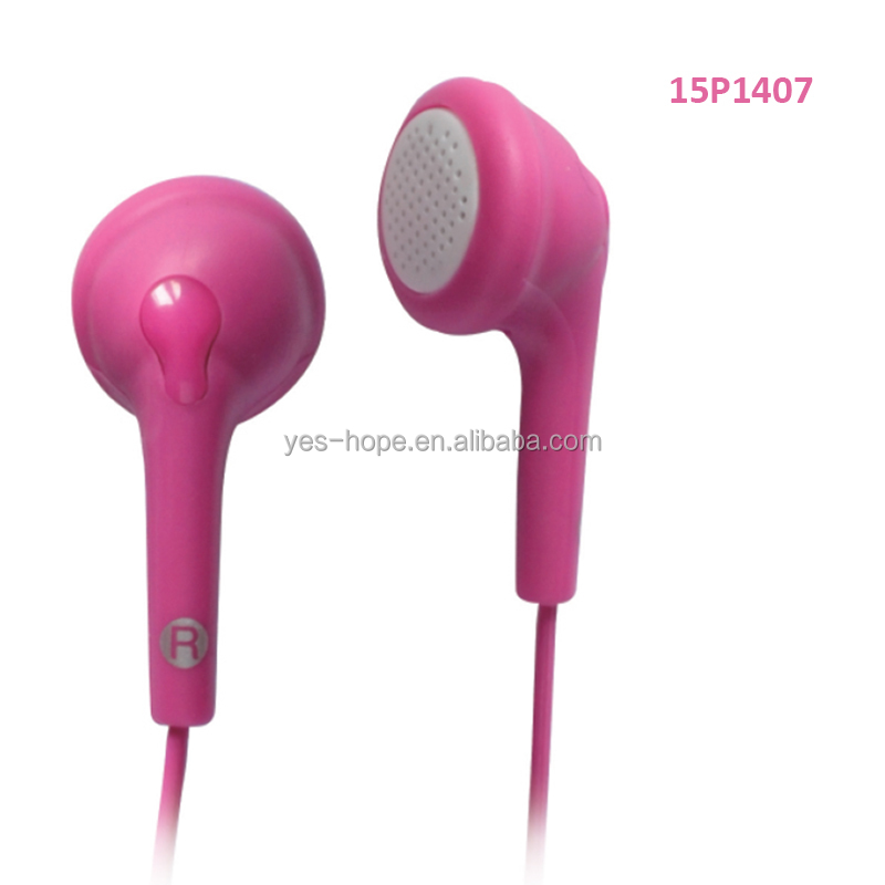 Cute silicone earphone rubber cover of multiple colors