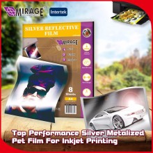 Best Performance A4 Silver Inkjet PET Metalized Film