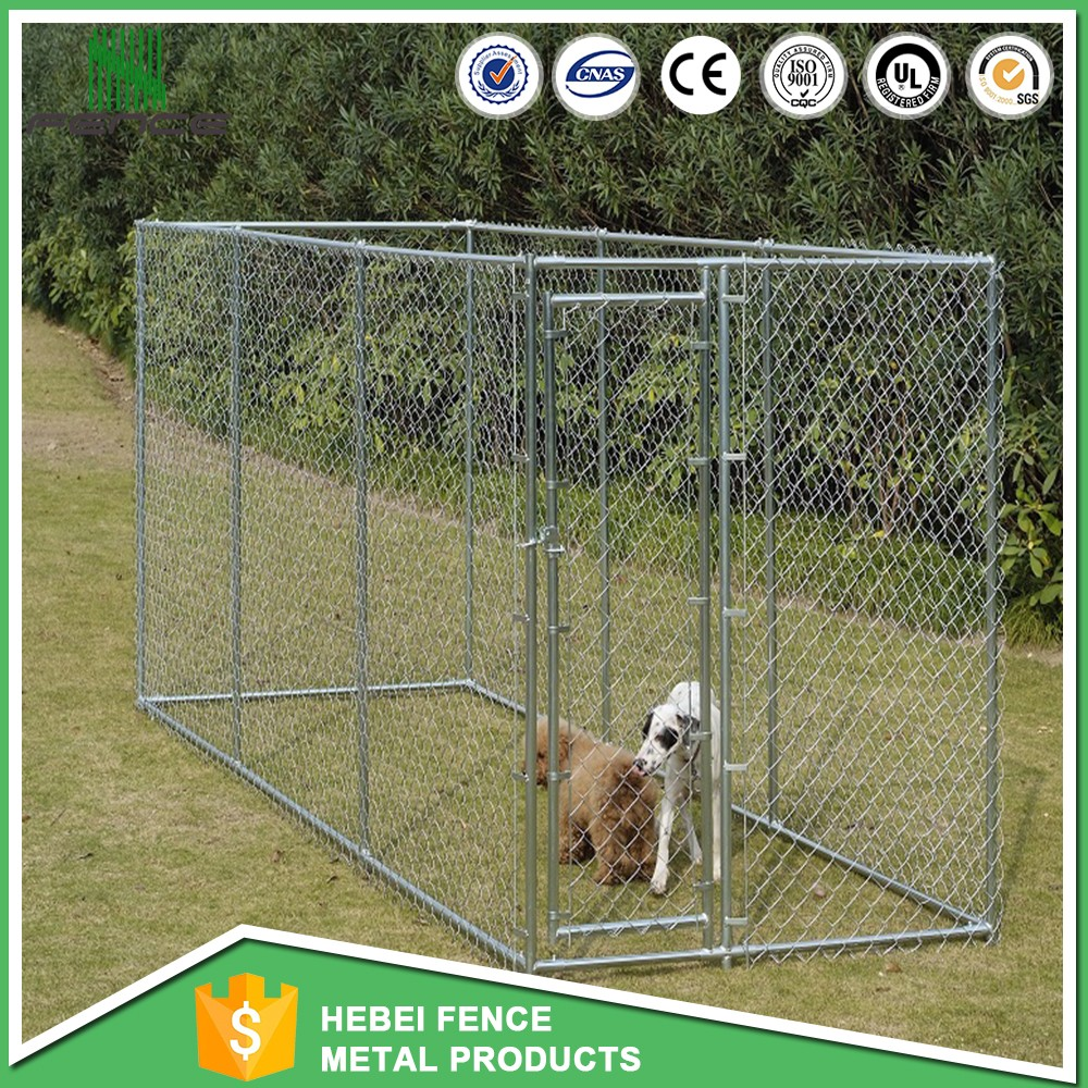 China wholesale the 5x10x6 dog kennel / lowes dog kennels and runs