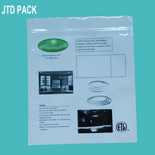 Qingdao JTD Plastic Manufacturer Compound Antirust Ziplock Plastic Bags For Metal Tools Part Packaging