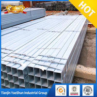 galvanized square steel pipes pipe mill