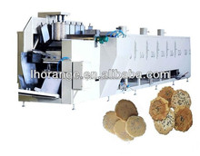 Hot-selling Automatic Production line of Iron plate roast cake equipment for pellet pancake,wage cookies and grid shape pancake