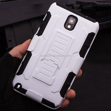 Hot Selling Hybrid Armor Cell customized back cover for galaxy note 3 For SAMSUNG GALAXY Note 3 N9000