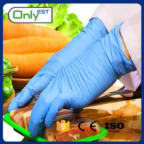 CE/ISO approved thick multi-purpose glove nitrile Manufacturer