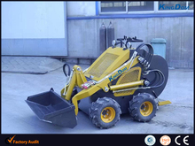 380kg compact mini skid loader on sale, same as Hysoon Dingo Bobcat