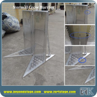 concrete road barrier for event