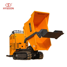 CE certificated construction machinery, self-loading dumper