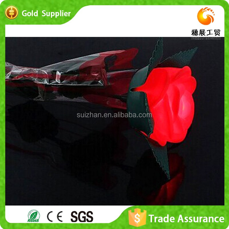 China Wholesale LED Flower Color Changing Gift Items For Women