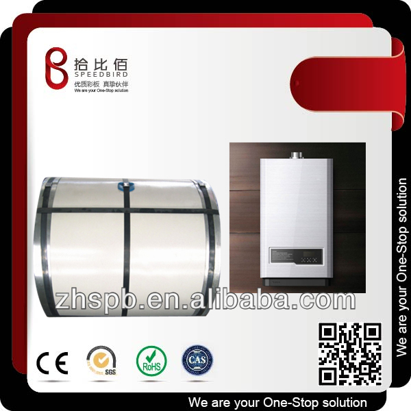 Speedbird Chemical Resistance Pre-coated Metal Sheet (PCM) for Water Heater Cabinet