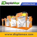 Modern trade show aluminum modular exhibition booth material customized booth design