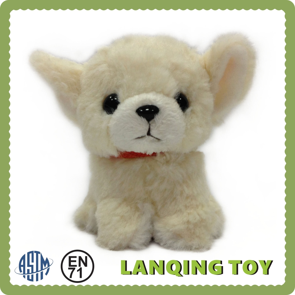 Gift Items Wholesale Plush Stuffed Toy White Dog
