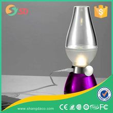 2016 New Creative Candle Light Vintage Oil Gas usb Blow Control Bed Side Lamp