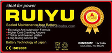 NS150 135ah JIS Standard Best Price Car Battery,MF automative Battery