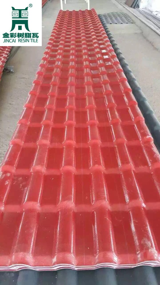 Factory Price Roof Sheet ASA/pvc Synthetic ResinRoof Tile