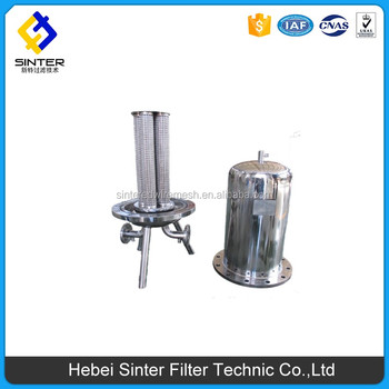 single cartridge filter housing