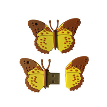 different types butterfly usb flash drives, promotional usb