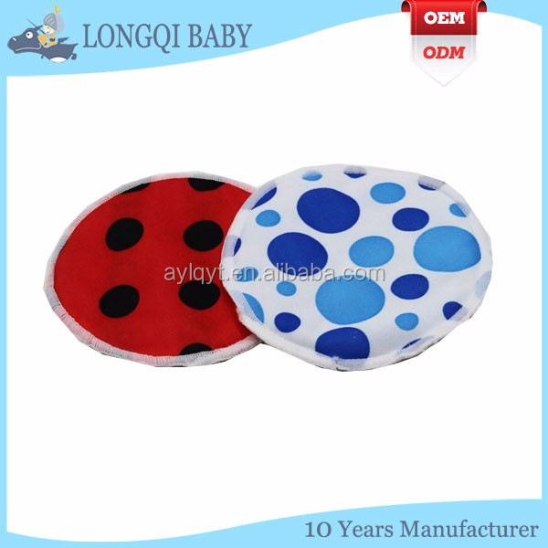 RD-TN-008 waterproof multi colors breast pads bamboo material breast feeding pads