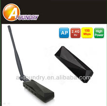 150Mbps wireless usb wlan adapter 802.11n/wifi adapter with external 3bdi antenna,802.11n USB 2.0/1.1 chipset:ralink 3070