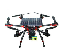 Trump UAV night vision fpv camera quadcopter fpv GPS SOLAR drone with camera for forest fire prevention