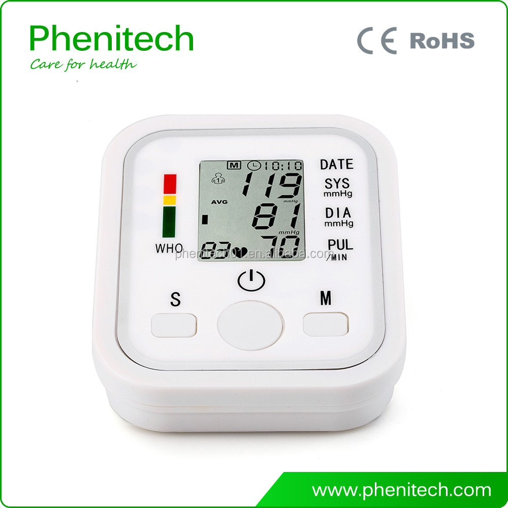 Houseuse Professional Eletronic Blood Pressure Monitors Upper Arm / Automatic Digital Pulse Rate meter BP monitoring