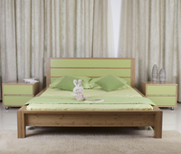 Elegant Environmental Bamboo Bed Room Furniture