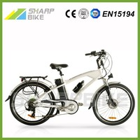 2015 new chopper electric bike, electric bike with a generator, electric trail bike