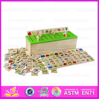2015 popular wooden educational toy with our factory price W12C003