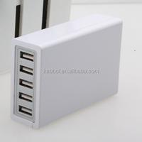 2016 5 Port USB Mobile Travel Charger 5V 10A Desktop USB Charging Hub for Apple iPhone 6 5 iPad Air 2 mini 3 Samsung Galaxy
