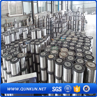 For making scourers stainless / GI steel wire / SS410