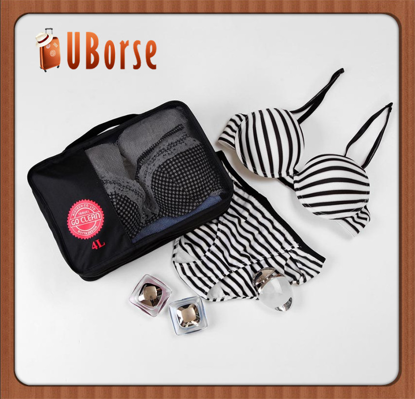 Uborse China factory direact wholesale Travel underwear case / Portable Storage Bag / Bra Organizer