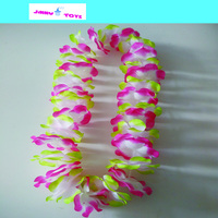 Decorative hawaiian garland artificial flower wreath for wedding Christmas