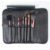 New style makeup brush set with 7pcs, pro makeup/cosmetic brush set,pink cosmetic bag