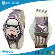 Promotion Gift China Factory Silicone Rubber Child Led Watch Instruction