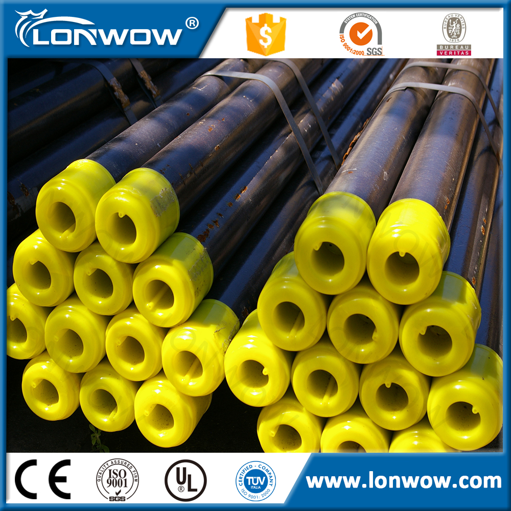 ASTM A53 API 5L/SCh 40 Sch 80 Carbon seamless Steel pipe