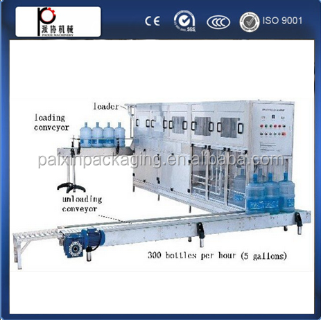 high quality and best price/full automatic 5Gallon Barrel Water Machine with CE standard