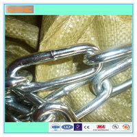 Straight Welded Link Chain DIN763