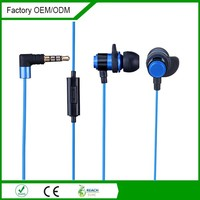 OEM headphones,good quality 3.5mm in-ear headset for mobile, with mic