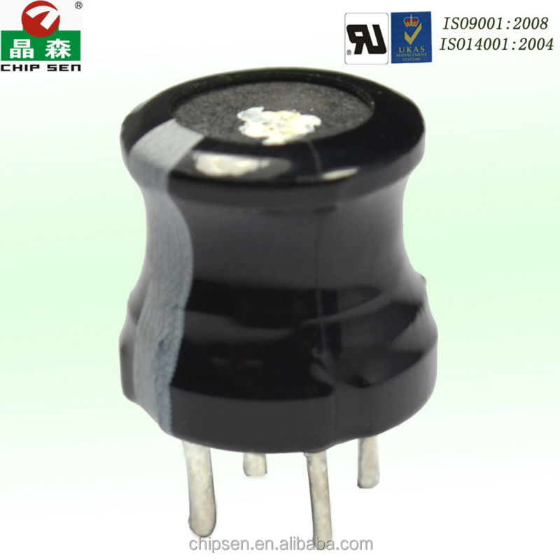 UL ROHS Compliant TDK Ferrite Drum Core Power inductor PK DR4W 10*10 3 mH 4 pins Lead Free inductor DC 500V