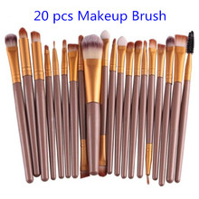 Professional 20 pcs Makeup Brush Set, Foundation Eyeliner Blush Contour Makeup Brushes