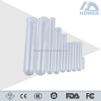 various size of glass test tube for lab