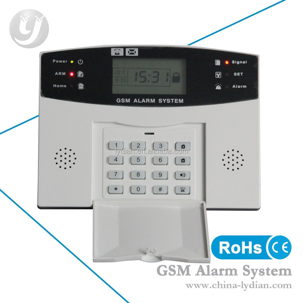 Factory cheapest system touch screen wireless alarm system
