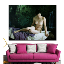 Sexy Nude Girl Oil Painting Classical Wall Art Photo to Print Giclee Printing Canvas Modern