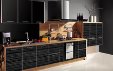 modern no handle furniture sideboard high gloss kitchen cabinet cupboard doors