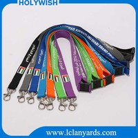 Custom safety release buckle lanyard sample free