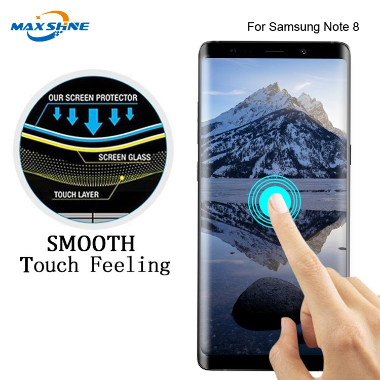 For Samsung S8 S8 Plus Note8 3D full coverage screen tempered glass