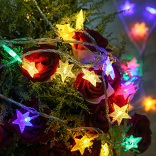 Cheap price warm white/ multi-color Christmas star sky led lights