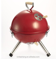 Brand New Soccer Ball Portable Charcoal BBQ Grill football shape Barbeque grill